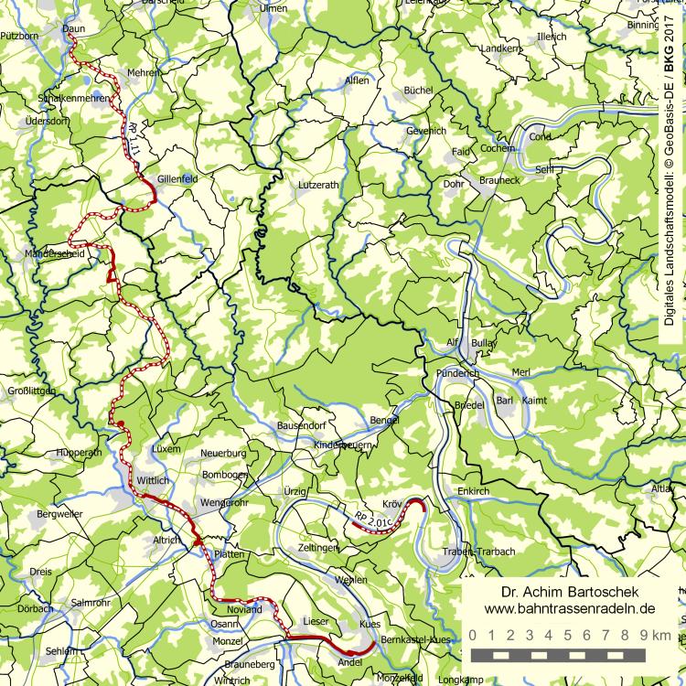 Mosel Radweg Karte Pdf.Bahntrassenradeln Rp 1 11 Maare Mosel Radweg Achim Bartoschek