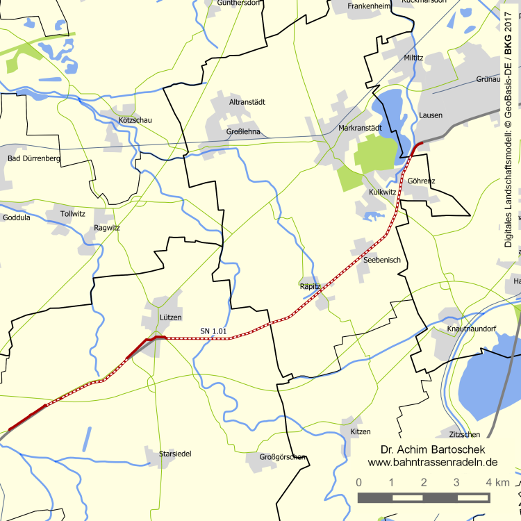 Saale Radweg Karte Pdf.Bahntrassenradeln Sn 1 01 Elster Saale Radweg Achim
