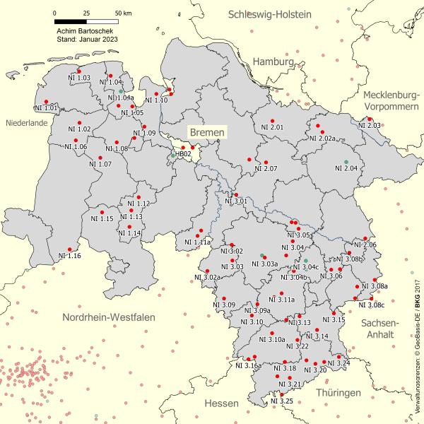 Fahrradwege Ostfriesland Karte.Bahntrassenradeln Niedersachsen Achim Bartoschek