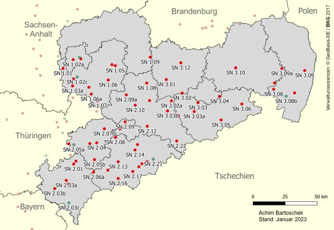 Stillgelegte Eisenbahnstrecken Sachsen